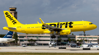 A picture of N620NK - Airbus A320232 - Spirit Airlines - © Sotos