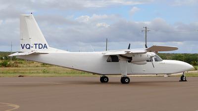 A picture of VQTDA - BrittenNorman BN2A27 Islander - InterCaribbean Airways - © Daniel Klein