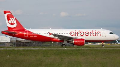D-ABZB - Airbus A320-216 - Air Berlin