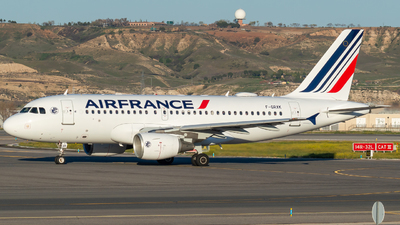 A picture of FGRXK - Airbus A319111 - Air France - © Mateo León