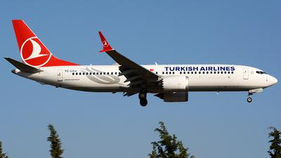 TC-LCJ - Boeing 737-8 MAX - Turkish Airlines