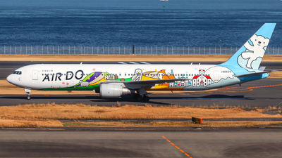 JA602A - Boeing 767-381 - Air Do (Hokkaido International Airlines)