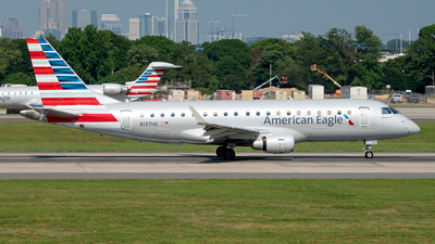 A picture of N137HQ - Embraer E175LR - American Airlines - © Yan777