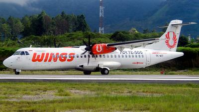 PK-WFF - ATR 72-212A(500) - Wings Air