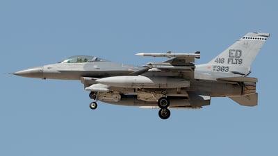 91-0383 - Lockheed Martin F-16CJ Fighting Falcon - United States - US Air Force (USAF)