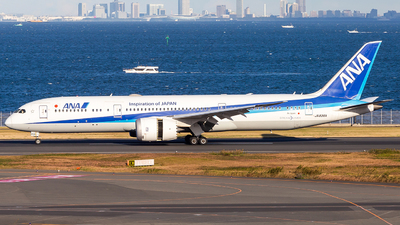 A picture of JA836A - Boeing 7879 Dreamliner - All Nippon Airways - © LUSU