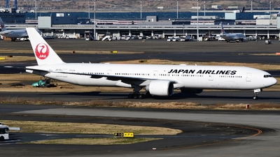 JA739J - Boeing 777-346ER - Japan Airlines (JAL)