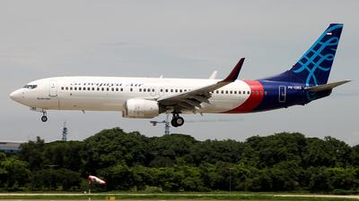 PK-CMS - Boeing 737-8BK - Sriwijaya Air