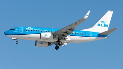 A picture of PHBGP - Boeing 7377K2 - KLM - © Debregabor