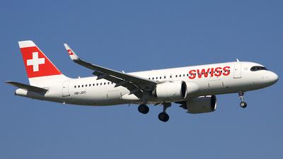 HB-JDC - Airbus A320-271N - Swiss