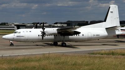 SX-BRM - Fokker 50 - Minoan Air