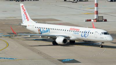 EC-LKX - Embraer 190-200LR - Air Europa Express