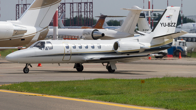YU-BZZ - Cessna 550B Citation Bravo - Air Pink