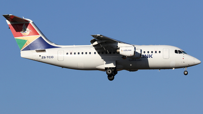 ZS-TCO - British Aerospace Avro RJ85 - Airlink