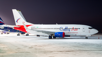 5N-BYQ - Boeing 737-36Q - Cally Air