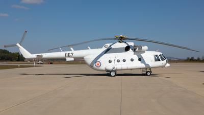 867 - Mil Mi-17 Hip - North Korea - Air Force
