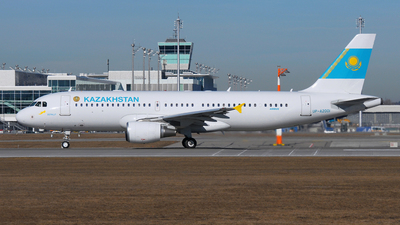 UP-A2001 - Airbus A320-214 - Kazakhstan - Government