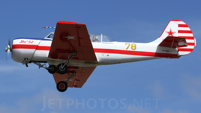 VH-YIK - Yakovlev Yak-52 - Private