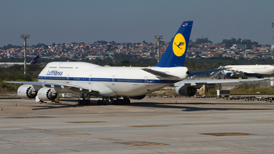 A picture of DABYT - Boeing 747830 - Lufthansa - © Alessandro Iglesias