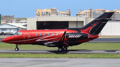 N864BF - Raytheon Hawker 800XP - J&J Aviation