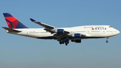 N667US - Boeing 747-451 - Delta Air Lines