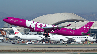 TF-LUV - Airbus A330-343 - WOW Air