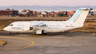 A picture of CP2889 - Avro RJ85 - EcoJet - © samuelau