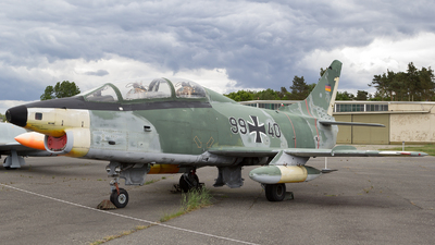 99-40 - Fiat G91-T/3 - Germany - Air Force