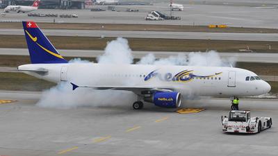 HB-JIY - Airbus A320-214 - Hello