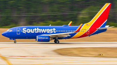 A picture of N7716A - Boeing 73776N - Southwest Airlines - © Carolina Chaser Studios