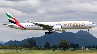 A picture of A6EBN - Boeing 77736N(ER) - Emirates - © Juan David Mancipe