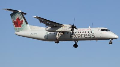A picture of CFJVV - De Havilland Canada Dash 8300 - Air Canada - © Shon Fridman