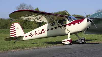 G-AJJS - Cessna 120 - Private