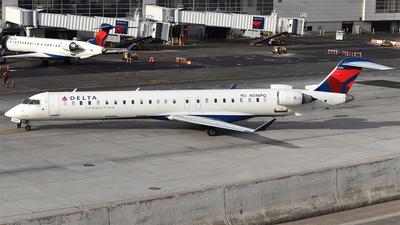 A picture of N316PQ - Mitsubishi CRJ900LR - Delta Air Lines - © Brady Noble