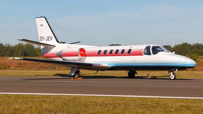 OY-JEV - Cessna 550 Citation II - Private