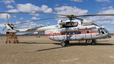 RF-31357 - Mil Mi-8MTV-1 Hip - Russia - Ministry for Emergency Situations (MChS)