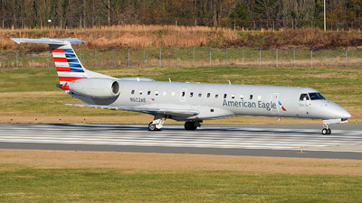 A picture of N602AE - Embraer ERJ145LR - American Airlines - ©  JC