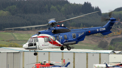 A picture of GZZSB - Airbus Helicopters H225 - Bristow Helicopters - © Paul Davey