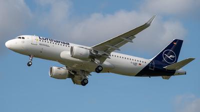 D-AUBE - Airbus A320-214 - Lufthansa