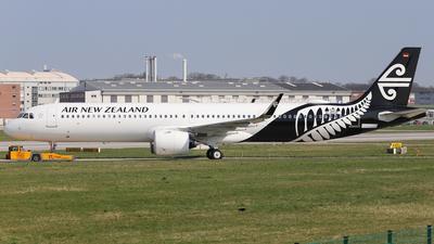 D-AVZF - Airbus A321-271NX - Air New Zealand