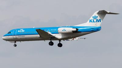 PH-KZC - Fokker 70 - KLM Cityhopper