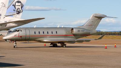 9H-VCF - Bombardier BD-100-1A10 Challenger 350 - VistaJet