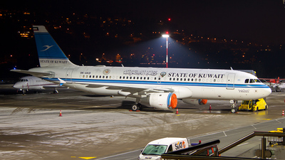 9K-AKD - Airbus A320-212 - Kuwait - Government