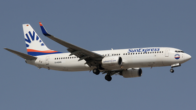 D-ASXN - Boeing 737-8EH - SunExpress Germany