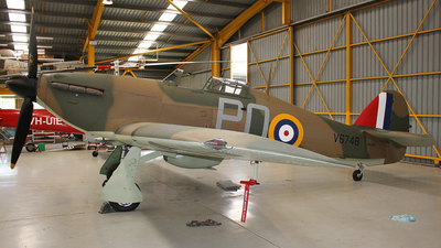 VH-JFW - Hawker Hurricane Mk.XII - Private