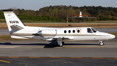 N14VA - Cessna 501 Citation SP - Private