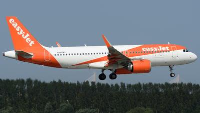 G-UZHJ - Airbus A320-251N - easyJet