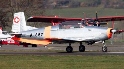 A picture of HBRCD - Pilatus P305 - [50554] - © Alexandre Fazan