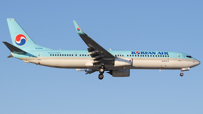 A picture of HL8249 - Boeing 7379B5(ER) - Korean Air - © KIM MINCHAN