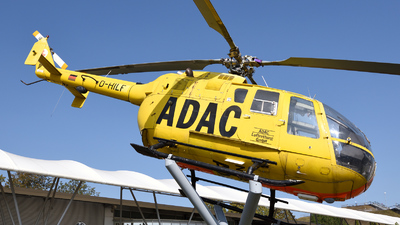 D-HILF - MBB Bo105CB - ADAC Luftrettung